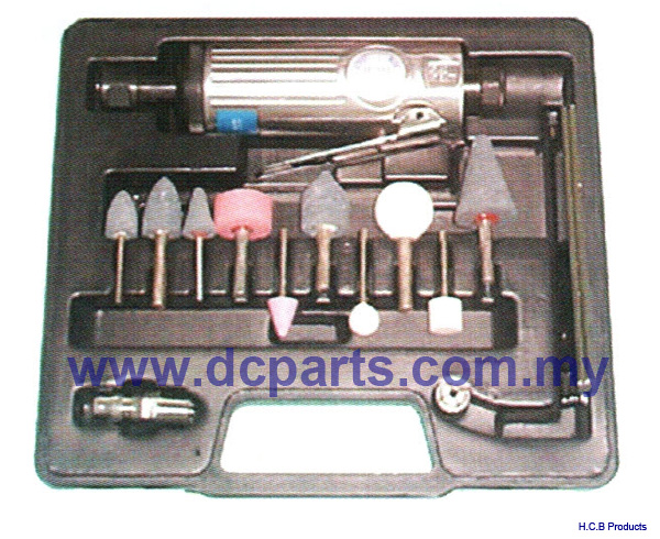 General Truck Repair Tools 16PCS AIR DIE GRINDER KIT  A2048